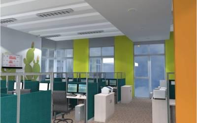 Projekt biura firmy ubezpieczeniowej