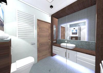 Łazienki w domu pod Garwolinem