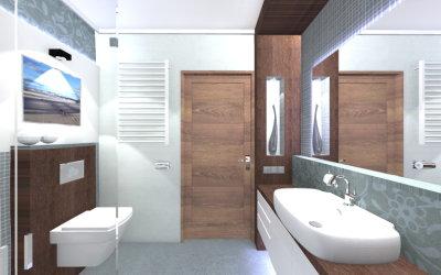 Łazienka w domu pod Garwolinem