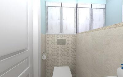 Kuchnia i łazienka na os. Bacha
